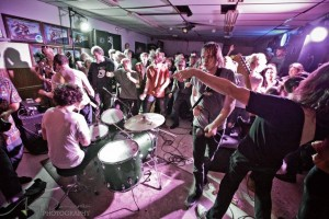 OBN III tearing up the VFW - Photo credit